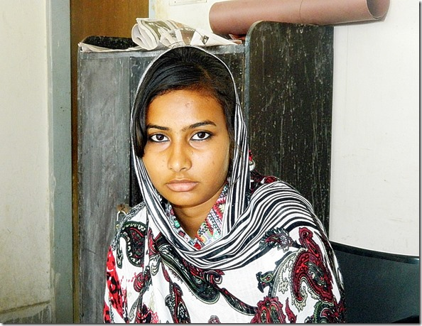 Maria Sarfraz - victim Muslim gang rape